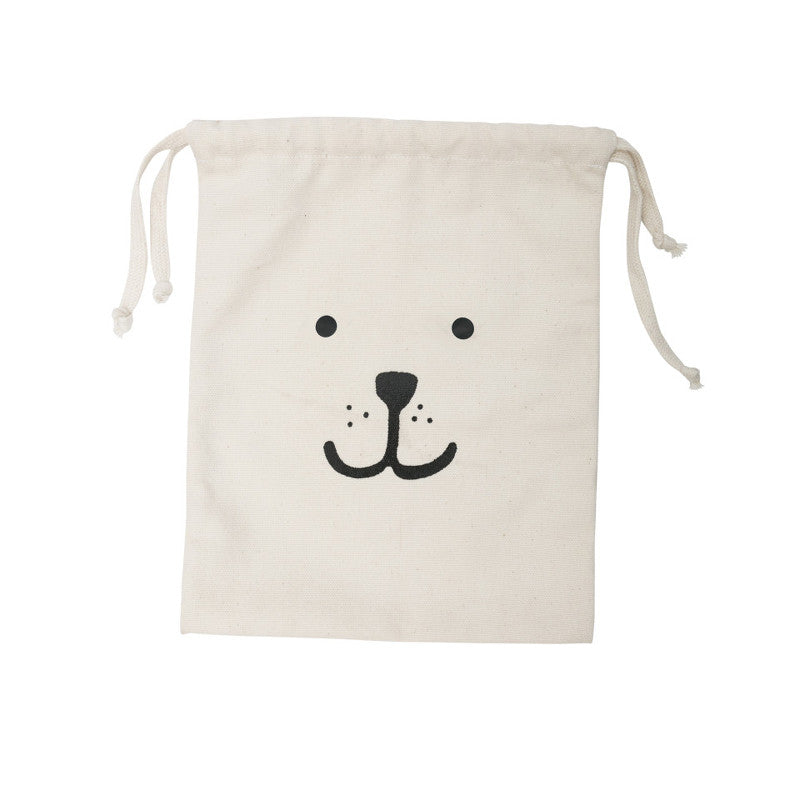 Small Canvas Bag Bear