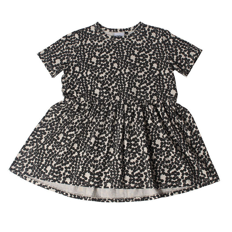 Spotted Gather Dress