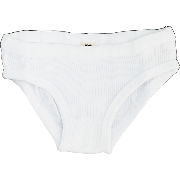 Girl's Panty White GOATMILK - www.fourmonkeys.com