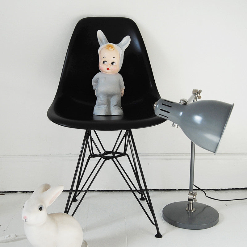 Grey Baby Lapin Lamp LAPIN&ME - www.fourmonkeys.com