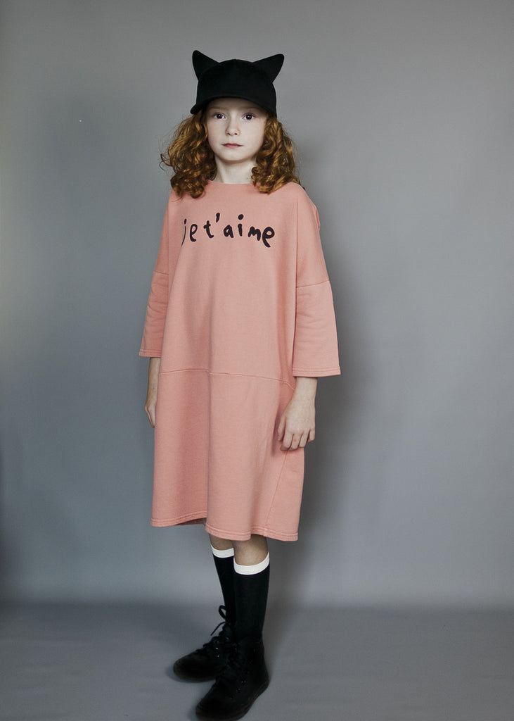 Je t'aime Relaxed Fit Dress