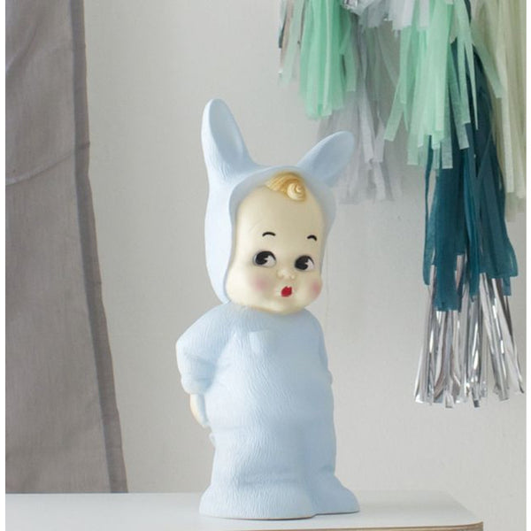 Chalky Blue Baby Lapin Lamp LAPIN&ME - www.fourmonkeys.com