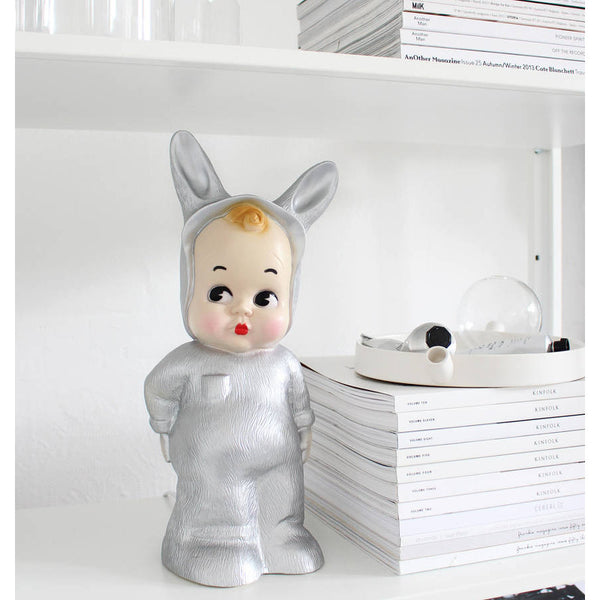 Silver Baby Lapin Lamp