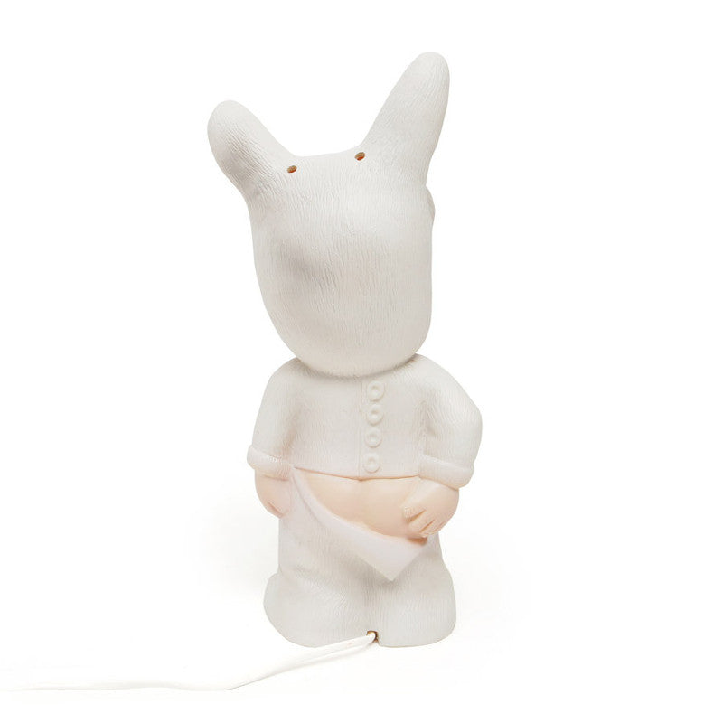 Winter White Baby Lapin Lamp