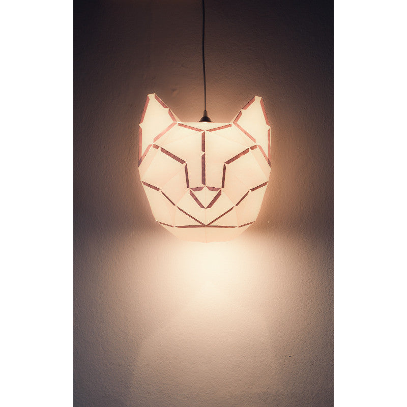 Cat Lampshade Large MOSTLIKELY - www.fourmonkeys.com