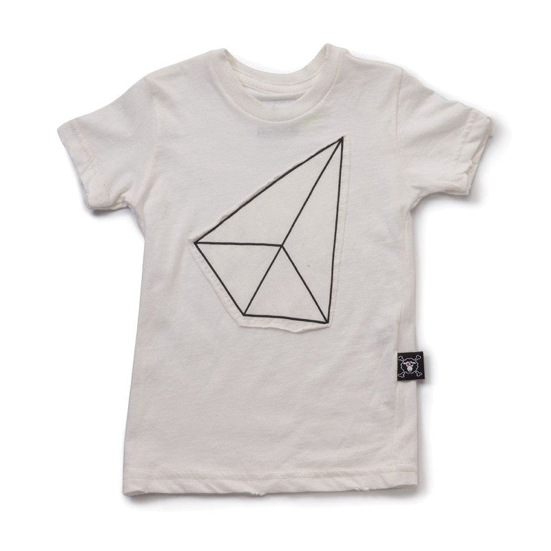 Geometric Patch T-shirt NUNUNU - www.fourmonkeys.com