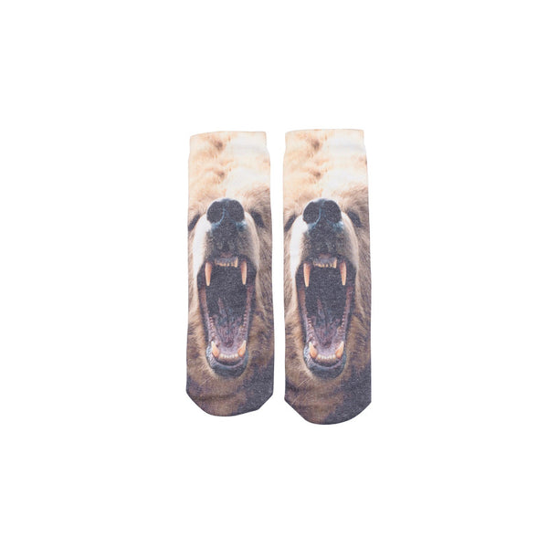 Tiger and Bear Socks