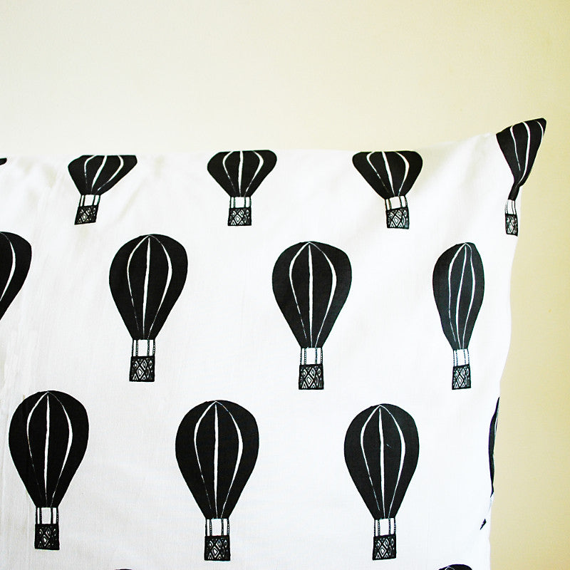 Hot Air Balloon Cushion Cover REBECCA KIFF - www.fourmonkeys.com