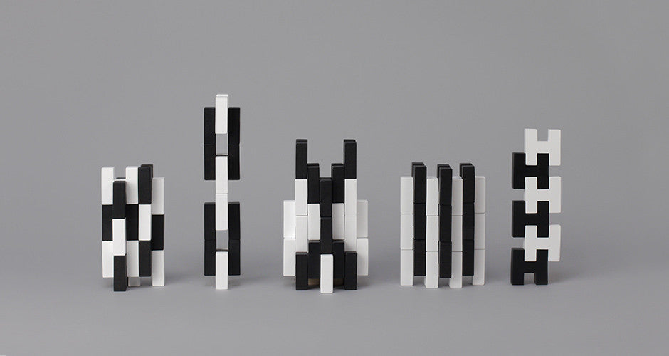 H-Block 18 Piece Set - White