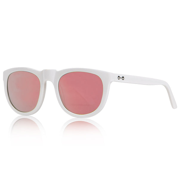 Bobby Sunglasses White SONS+DAUGHTERS - www.fourmonkeys.com