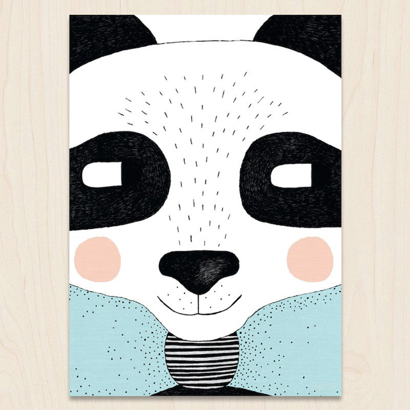 Big Panda A3 Print SEVENTY TREE - www.fourmonkeys.com