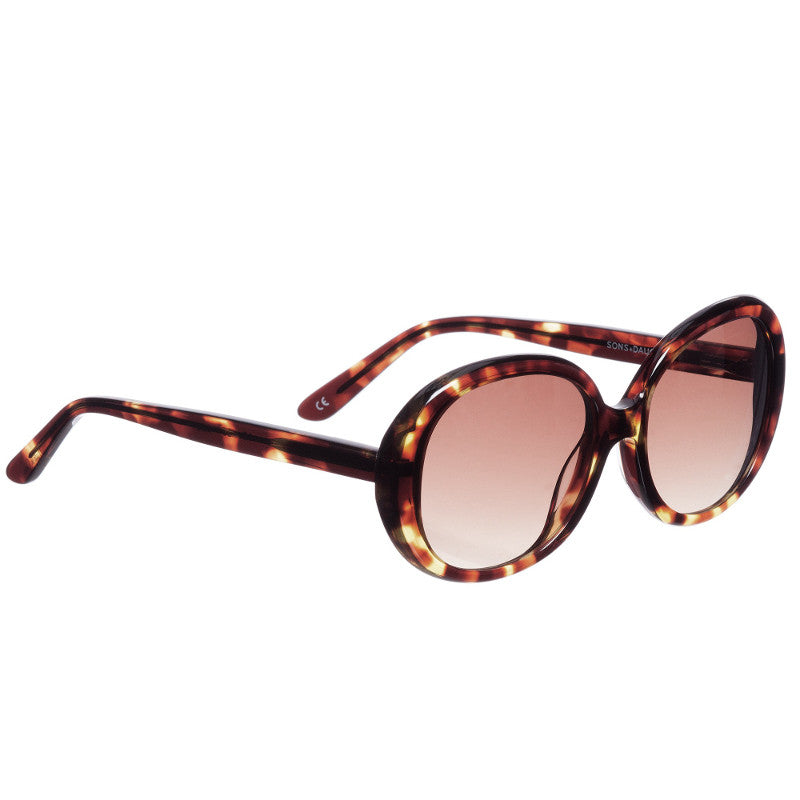 Jackie Sunglasses Tortoise SONS+DAUGHTERS - www.fourmonkeys.com