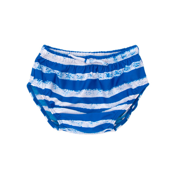 Baby Swim Trunks Striped Blue NOE&ZOE BERLIN - www.fourmonkeys.com