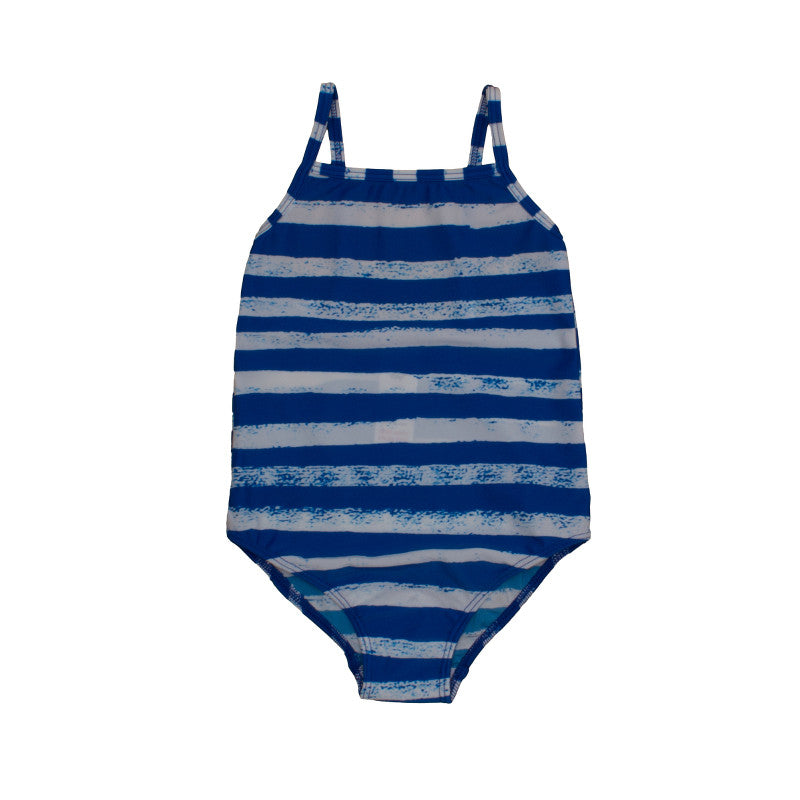 Swimsuit Striped Blue