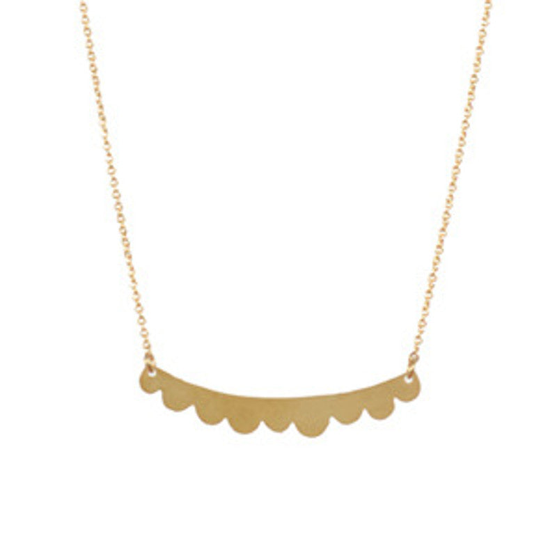 Golden Mulberry Necklace TITLEE - www.fourmonkeys.com