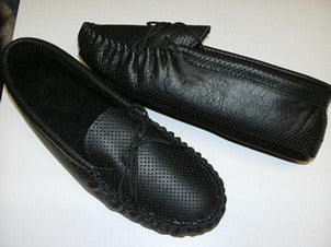 Black Leather Moccasin Special Offer
