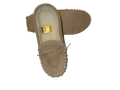 Extra Large Size Moccasin with Soft Sole | Simon