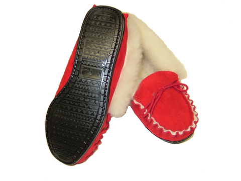 Ladies Loafer Moccasin Slipper | Lily