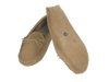 Sued Moccasin with Fabric Lining & Soft Sole | Mark