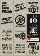 AVA top 10 vocal tips