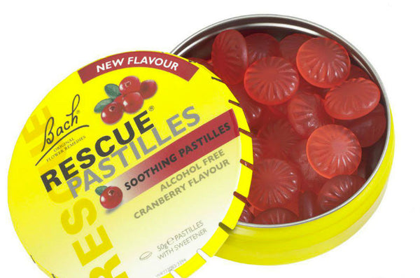 Stress Relief - Bach Rescue Remedy Pastilles - 50g