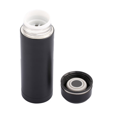 Voice Loop 370ml Vacuum Thermos - Matte Black