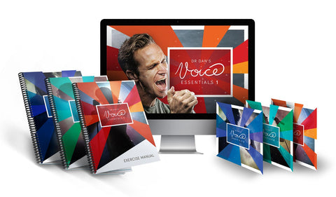 "Dr Dan's ""Voice Essentials"" – Vocal Courses"