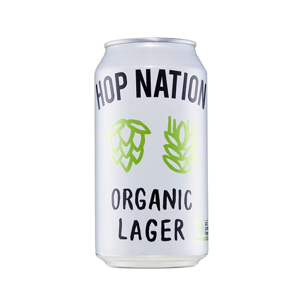 Hop Nation Organic Lager 4PK