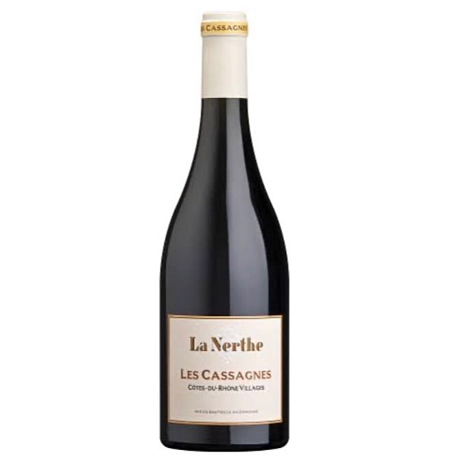 Chateau La Nerthe Les Cassagnes 2017 - Cotes-du-Rhone Villages, France