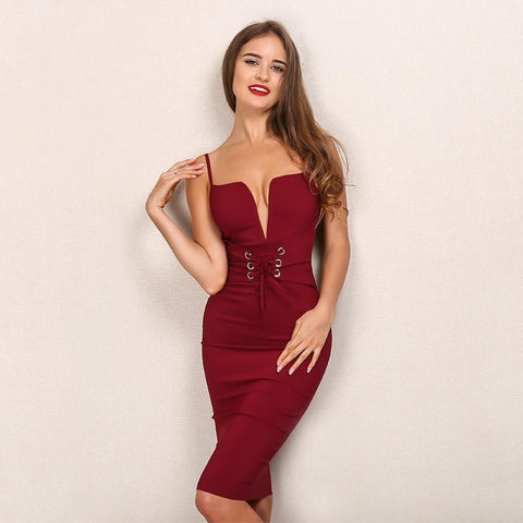 CORSET FRONT BODYCON DRESS