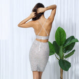 VINE GLITTER SKIRT SET