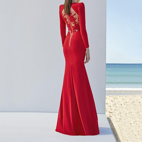 LORA LUXURY BANDAGE GOWN
