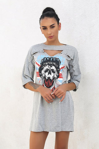 PUNK TSHIRT DRESS