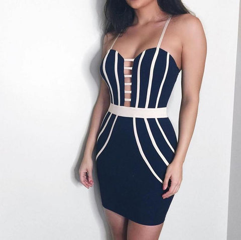 GEORGIA BANDAGE DRESS
