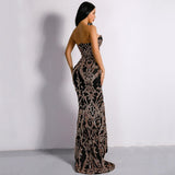 DIANA SEQUIN GOWN