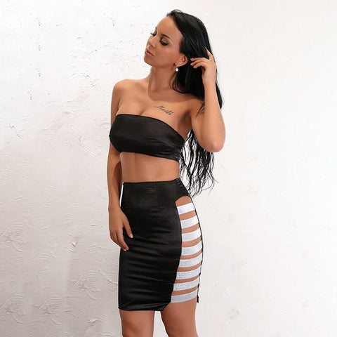 KHLOE SKIRT SET