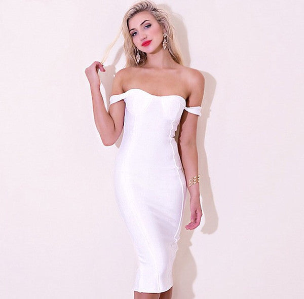 CHARLIE BANDAGE DRESS