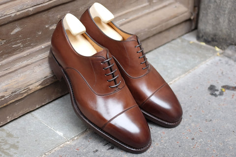 Carlos Santos Oak Dress Shoes with Dainite