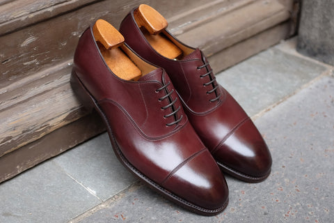 Carlos Santos Bordeaux Dress Shoe