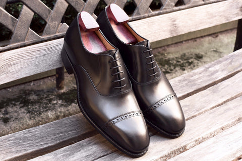 Carlos Santos Classic Oxford in Black