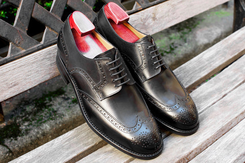 Carlos Santos Wingtip Derby in Black
