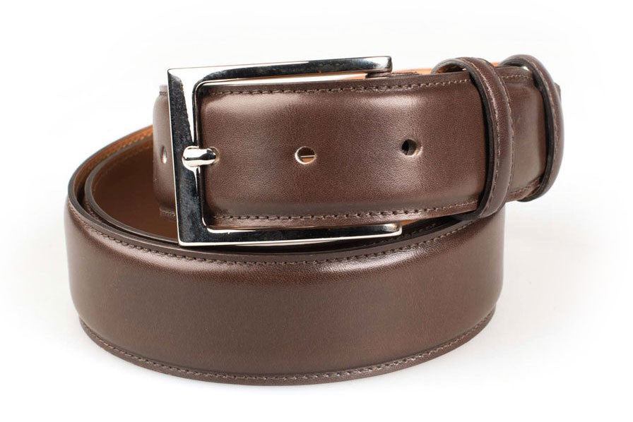Carlos Santos belt in Brown Calf