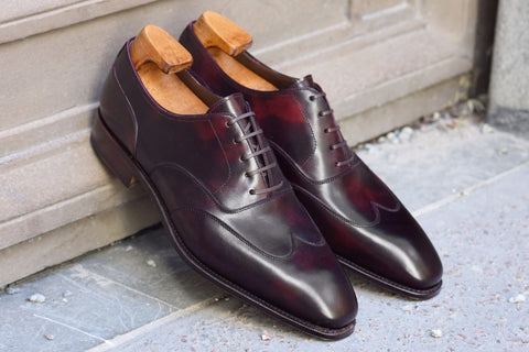 Carmina Museum Calf Austerity Brogue