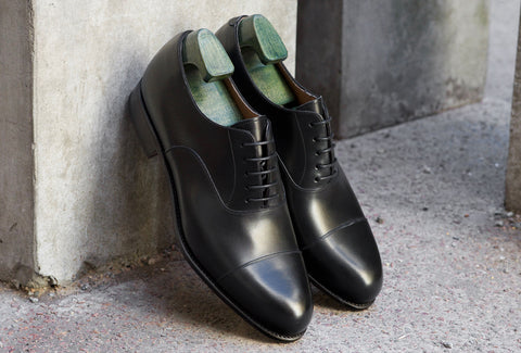 Carmina Dress Shoes in Black