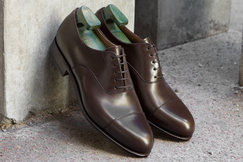 Carmina Dress Shoes in Espresso Calf