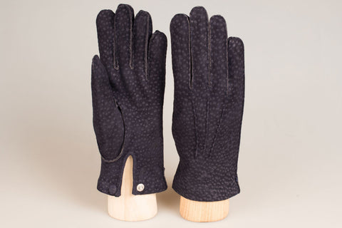 Hestra Unlined Glove - Navy Carpincho