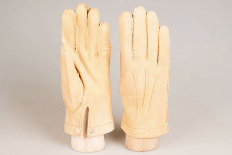 Hestra Unlined Glove - Natural Chamois