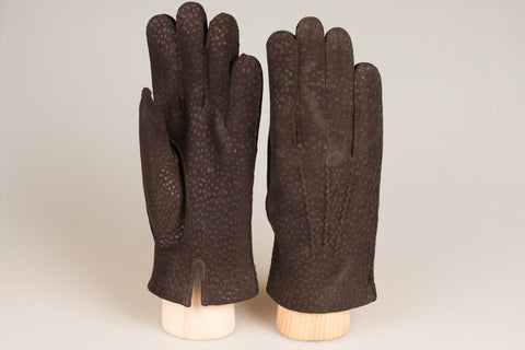 Hestra unlined glove - Espresso Carpincho