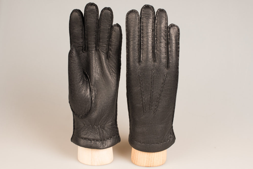 Hestra wool lined glove - Black Peccary