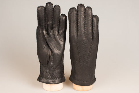 Hestra Cashmere Lined Glove - Black Peccary